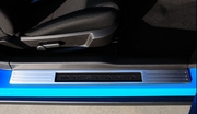 2010-2012 Ford Mustang T1 Series Billet Brushed Aluminum Door Sill