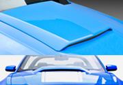 2010-2012 Ford Mustang V6 GT V8 Hood Scoop