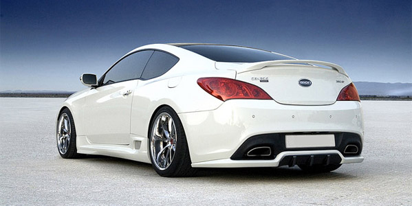 2010 2012 hyundai genesis coupe rear bumper diffuser. Black Bedroom Furniture Sets. Home Design Ideas