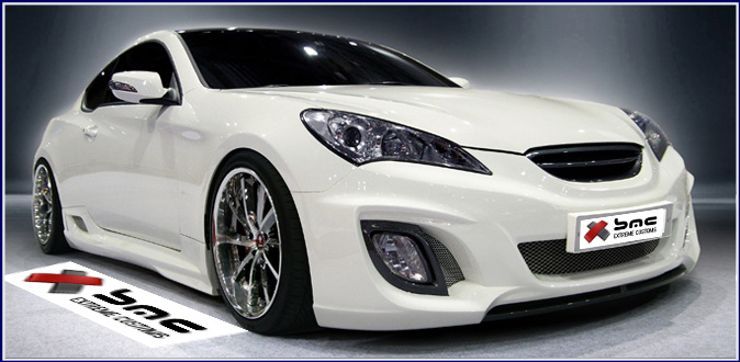 2010 2012 Hyundai Genesis Coupe X Body Kit