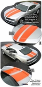2010-2013 Chevrolet Camaro Rally Stripe Kit 6 (Convertible & Coupe)