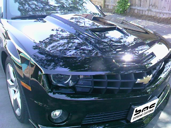 2010-2013 Chevrolet Camaro Short Stinger Camaro Hood Scoop