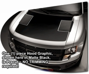 2010-2013 Ford F-150 Raptor Hood Enhancement Graphics Kit 1