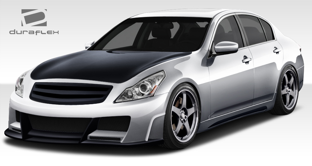 2010 2013 infiniti g sedan g37 duraflex elite body kit. Black Bedroom Furniture Sets. Home Design Ideas