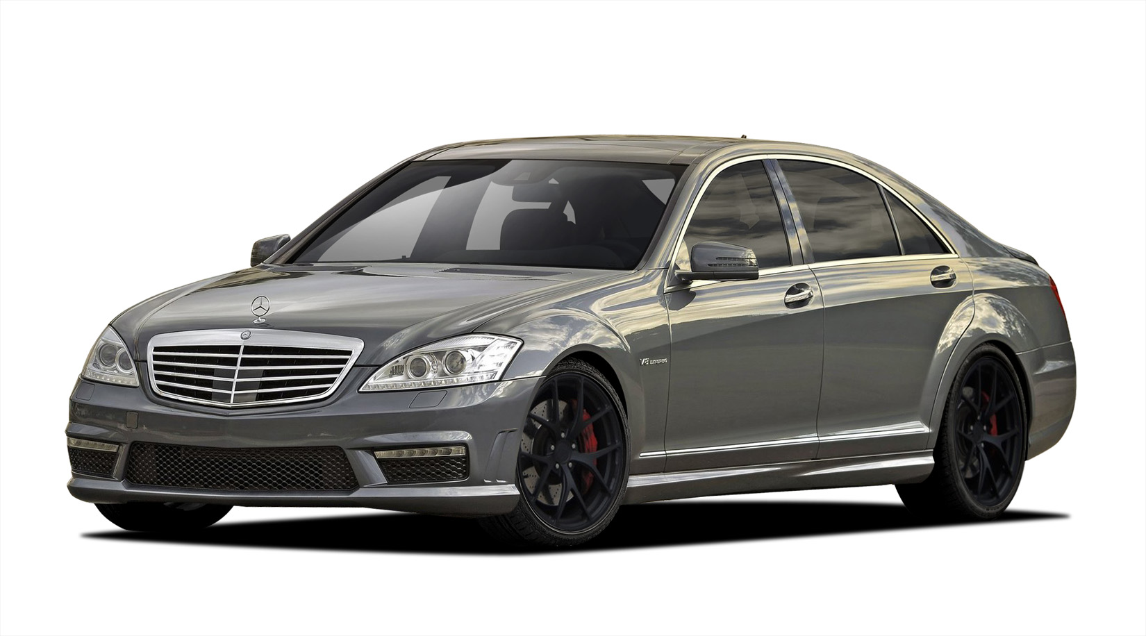 2010 2013 mercedes s class w221 vaero s63 look kit. Black Bedroom Furniture Sets. Home Design Ideas