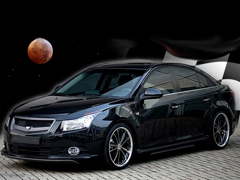 2010-2014 Chevrolet Cruze Predator Body Kit / Ground ...