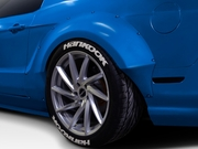 2010-2014 Ford Mustang Duraflex Circuit Wide Body Kit-4PC