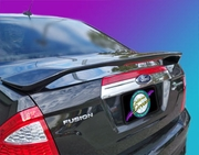 2010-2012 Ford Fusion Custom Style Pedestal Rear Wing, Painted