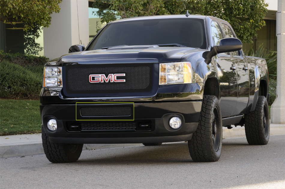 2011-2012 GMC Sierra HD 2500/3500 - Upper Class Polished Stainless Mesh Grille