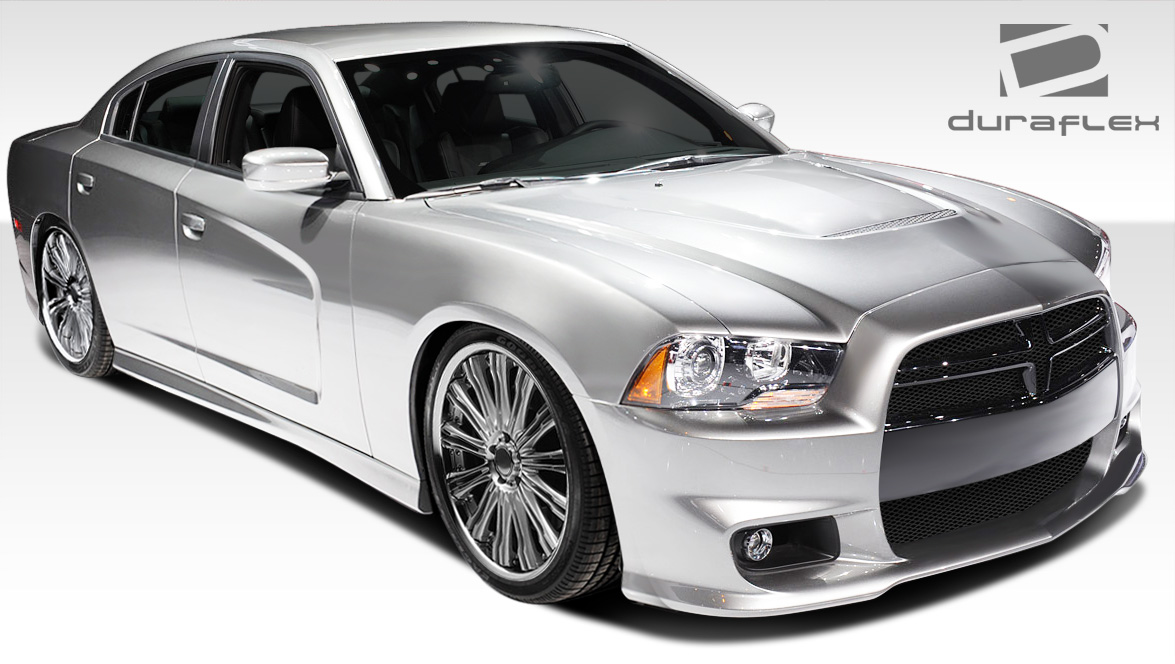 2011 2013 dodge charger duraflex srt look body kit 108070. Black Bedroom Furniture Sets. Home Design Ideas