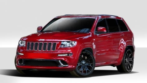 2011 2013 jeep grand cherokee duraflex srt style body kit. Black Bedroom Furniture Sets. Home Design Ideas