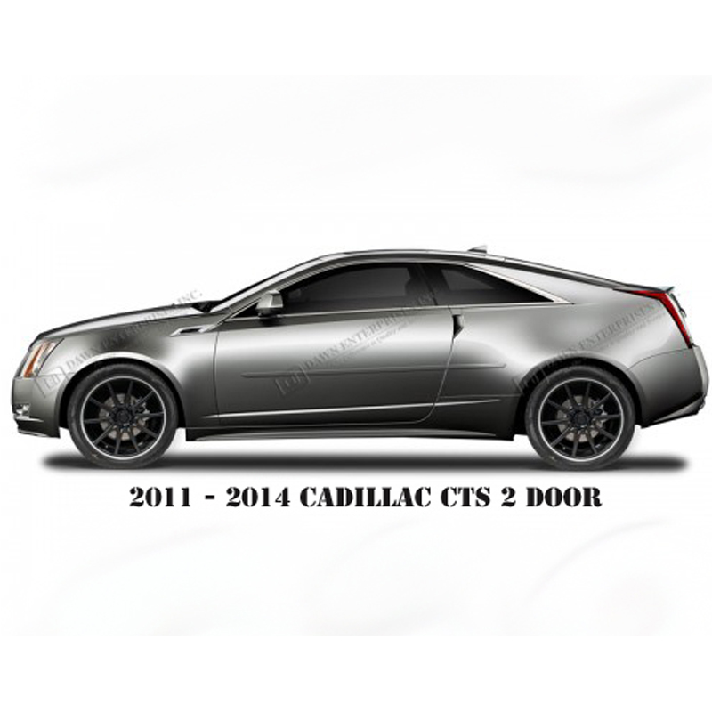 2011 2014 cadillac cts 2 door body side molding fe cts2dr. Black Bedroom Furniture Sets. Home Design Ideas