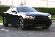 2011-2014 Charger Black Grille w/ Formed Mesh