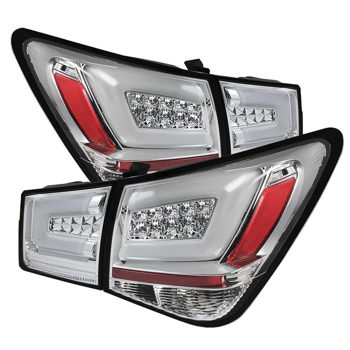 Benz Style Smoke LED Tail Lights Rear Lamp For Chevrolet ...  |2014 Chevy Cruze Lights