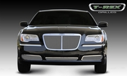 2011-2014 Chrysler 300 Bently Style Upper Class Polished Stainless Mesh Grille