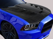 2011-2014 Dodge Charger DriTech Viper Style Hood 113116