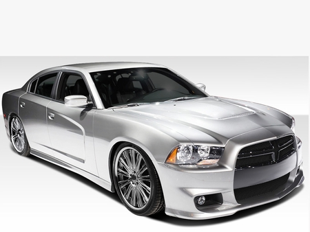 Duraflex 108070 Charger Duraflex SRT Look Body Kit 2011-2014