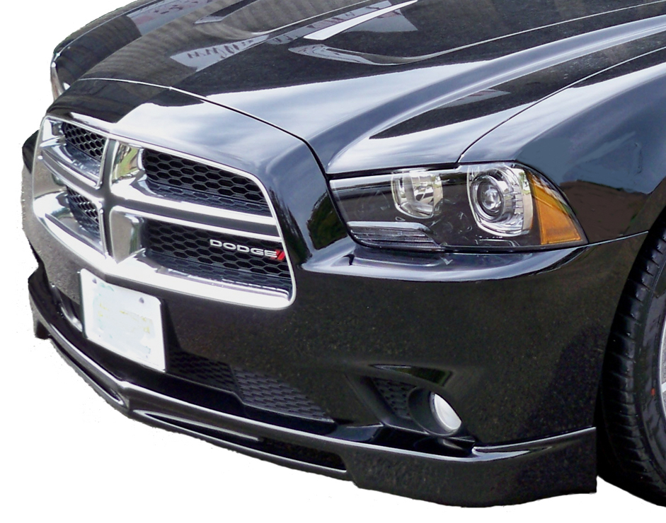 2011 2014 dodge charger front air dam razzi. Black Bedroom Furniture Sets. Home Design Ideas