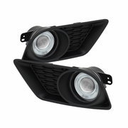 2011-2014 Dodge Charger �Halo Projector� Fog Lights - Clear