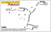 2011-2014 Dodge Charger Magnaflow Stainless Cat-Back System Performance Exhaust