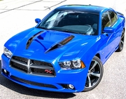 2011-2014 Dodge Charger Road Runner Hood Custom Graphics Kit