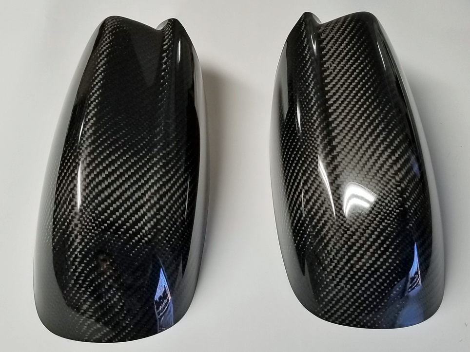 2011 2018 Dodge Charger Side Mirror Carbon Fiber Covers