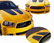 2011-2014 Dodge Charger Stripe Hood Graphics Kit