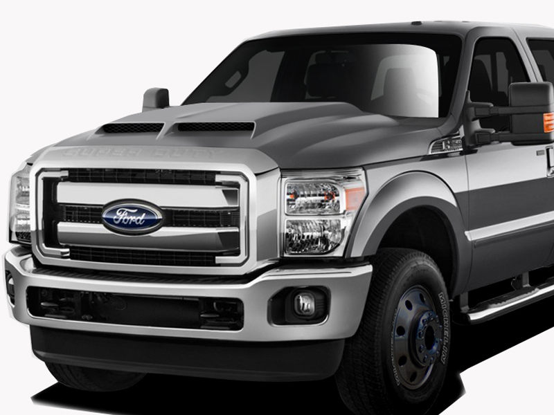 2011 2015 ford super duty f250 f350 f450 duraflex gt500 hood. Black Bedroom Furniture Sets. Home Design Ideas
