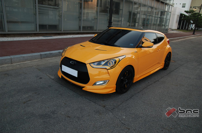 2012 2013 hyundai veloster turbo style body kit. Black Bedroom Furniture Sets. Home Design Ideas