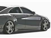 2012 2013 Mercedes Benz CLS C218 Eros Version 1 Body Kit - 4 Piece
