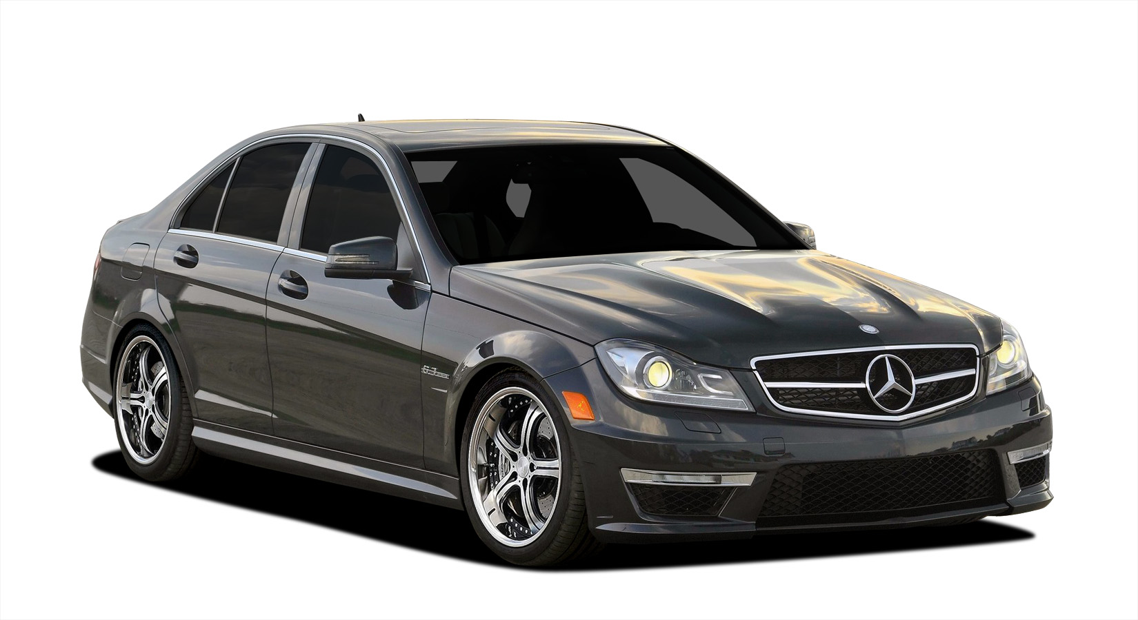 2012 2014 mercedes c class c63 w204 vaero c63 look conversion kit. Black Bedroom Furniture Sets. Home Design Ideas