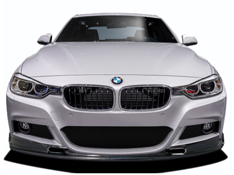 2012 2015 bmw 3 series m sport 4dr f30 carbon creations eros version 1 front lip under air dam. Black Bedroom Furniture Sets. Home Design Ideas