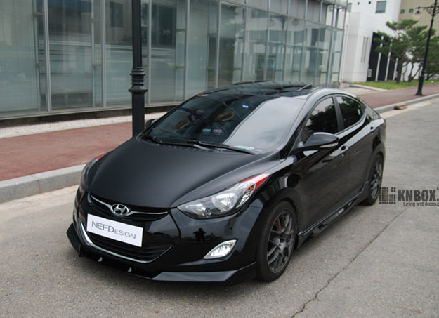 2012 2015 Hyundai Elantra Nefdesign Body Kit
