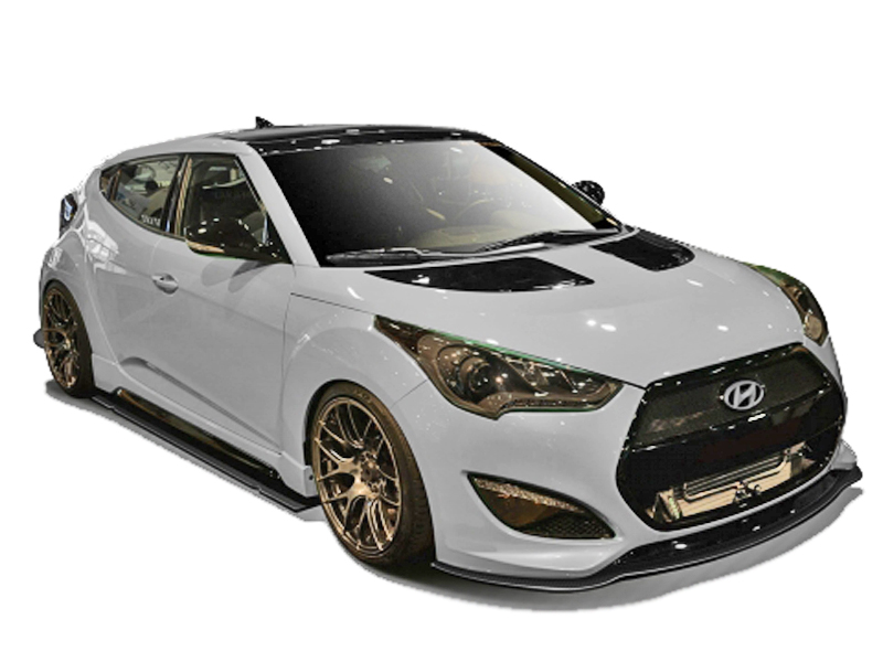 2012-2015 Hyundai Veloster Turbo Carbon Creations GT Racing Body Kit ...