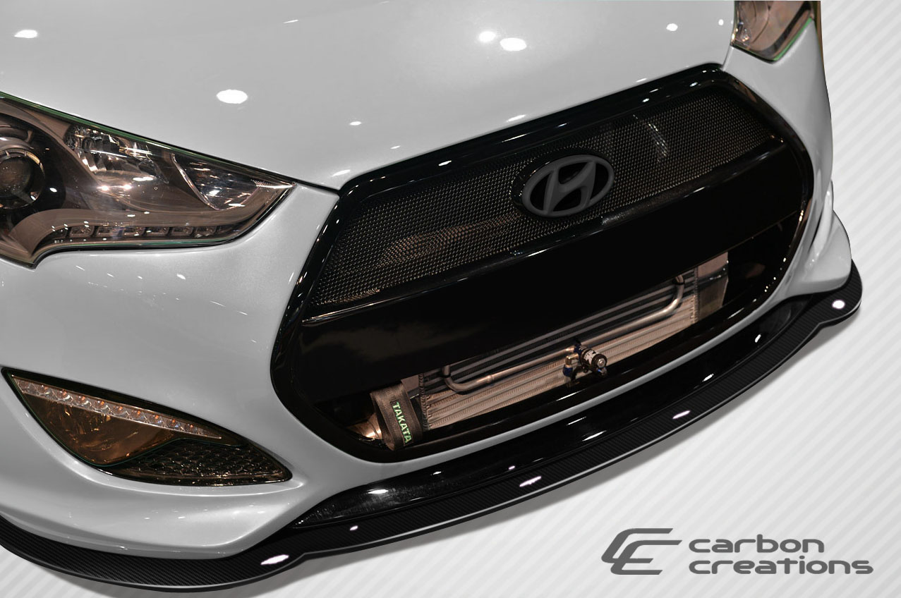 2012 2014 hyundai veloster turbo carbon creations gt racing front 2012 2016 hyundai veloster turbo carbon creations gt racing front splitter 1 piece sciox Choice Image