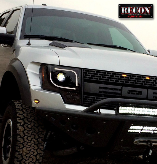 2013 2014 Ford F150 Amp Raptor Recon Projector Headlights