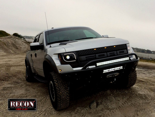 2013 2014 Ford F150 Raptor Recon Projector Headlights
