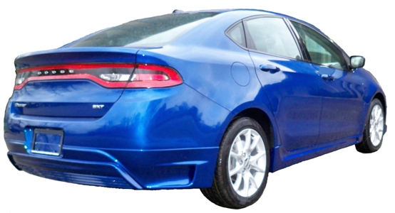 2013 2015 Dodge Dart Bodykit Razzi 174 Ground Effects
