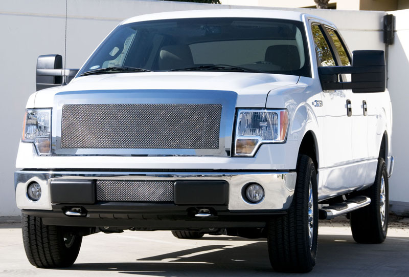 2013 2014 Ford F150 Upper Class Formed Mesh Grille Insert 54572