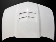 2014-2015 Camaro LS/LT V6 ONLY Type-ZL1 Style Functional Heat Extractor Hood