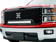 "2014-2015 Chevrolet Silverado 1500 TORCH Series 6311191 LED Light Grille Black Main 1-30"" LED Bar"
