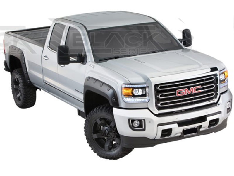 2014 2015 gmc sierra 1500 pocket style fender flares - 2015 gmc sierra interior accessories ...