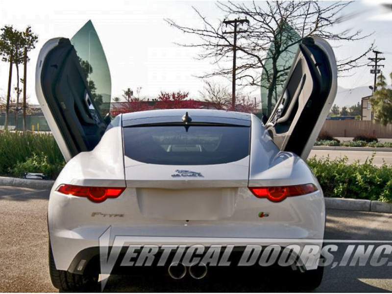 Bolt On Vertical Lambo Doors Jaguar F Type 2014 2016
