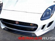 2014-2016 Jaguar F-Type Carbon Fiber Front Splitter and Side Splitter Kit