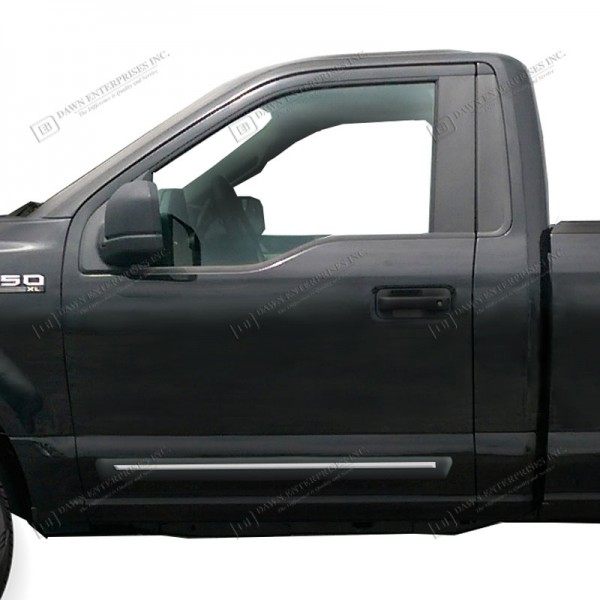 2015 2016 Ford F 150 Regular Cab Chromeline Painted Body