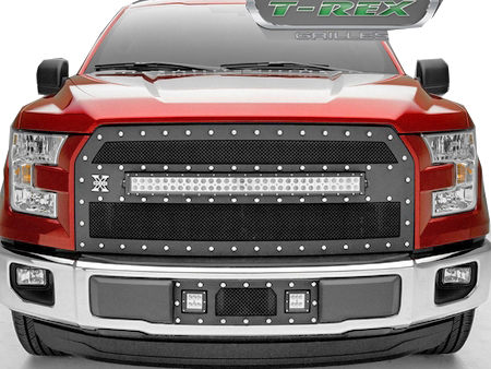 2015 Current Ford F 150 Torch Series Main Grille
