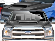 2015-2019 Ford F150 Carbon Creations Carbon Fiber Grid Hood
