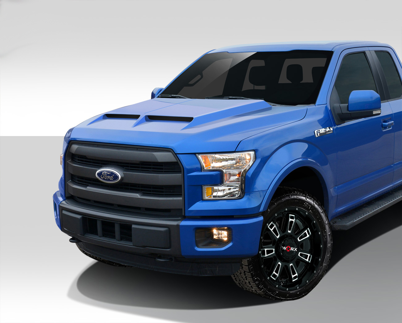 2017 2019 Ford F150 Gt500 Styled Hood 1 Piece