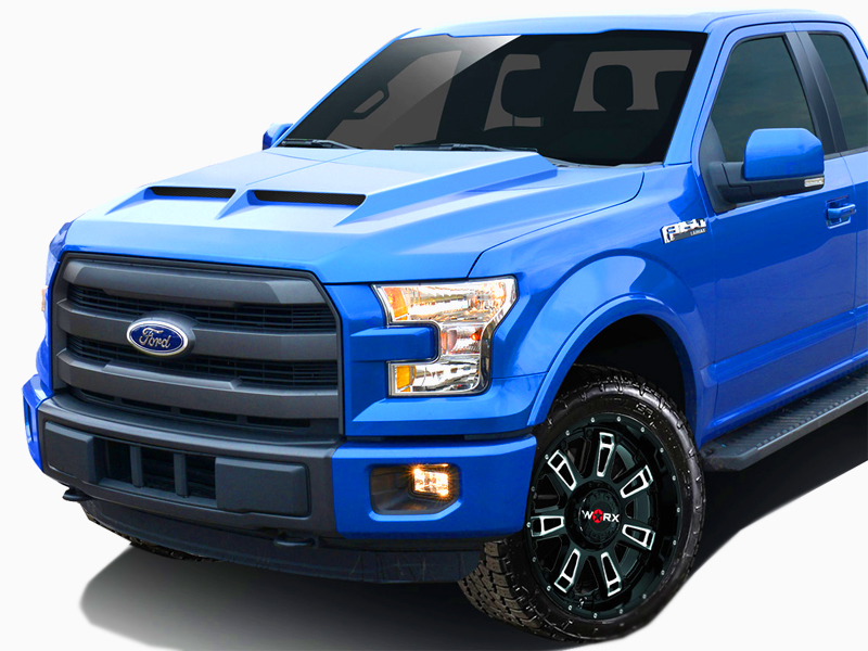 2015 2020 Ford F150 Gt500 Styled Hood 1 Piece