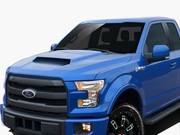 2015-2019 Ford F150 Heat Extractor Grid Hood